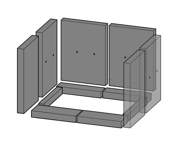 schamottsatz haas und sohn kaminofen aqua sinn. Black Bedroom Furniture Sets. Home Design Ideas