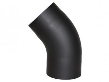 RR-Bogen 45 Grad Senoterm® schwarz gezogen