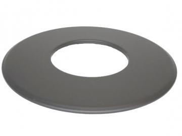 Rosette Senoterm® gussgrau 9cm Rand