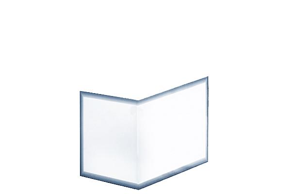 Kaminscheibe Ekko 67(45)45 Kristall einteilig