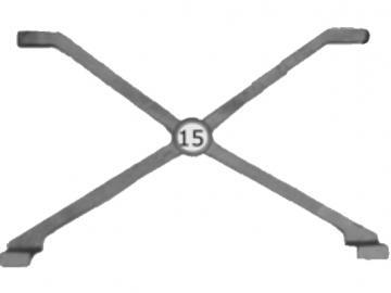 Rostauflage .12