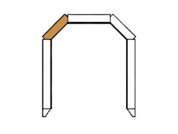 Schamott Diagonalstein 101