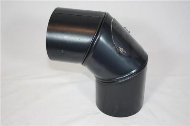 rauchrohrbogen gebl ut drehbar 0 90grad mit reinigungs ffnung. Black Bedroom Furniture Sets. Home Design Ideas