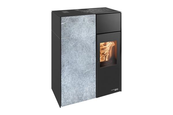 haas und sohn pelletofen catania ii rlu speckstein. Black Bedroom Furniture Sets. Home Design Ideas