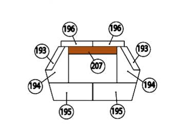 Schamott Bodenstein 207