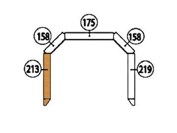 Schamott Seitenstein 213