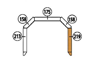 Schamott Seitenstein 219