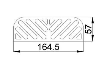 Abdeckung für Deckplatte