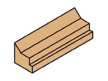 Schamott Bodenstein vorn oder hinten