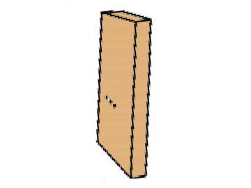 Schamott Seitenstein rechts