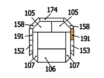Schamott Seitenstein 191