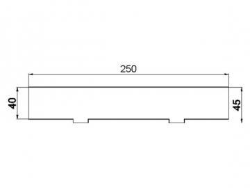 Stehrost 250x45