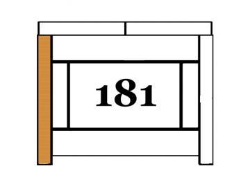 Schamott Seitenstein 181