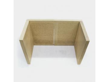 Vermiculitesatz Kago Kamineinsatz Gigant 750