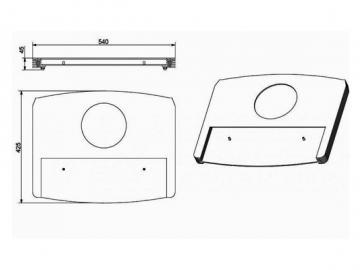 Deckplatte schwarz 305.15