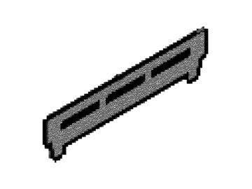 Stehrost perl-schwarz