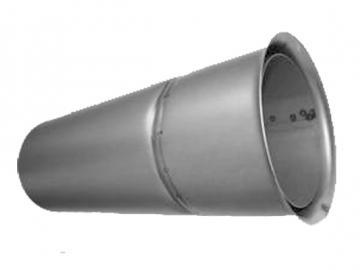 Wandfutter doppelt 400 mm kuerzbar