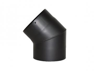RR-Bogen 45 Grad Senoterm® schwarz ohne ROE