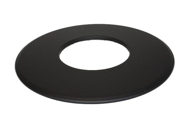 Rosette Senoterm® schwarz 9cm Rand