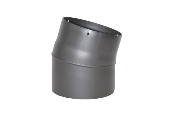 RR-Bogen 15 Grad Senoterm® gussgrau ohne ROE