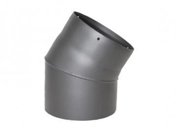 RR-Bogen 30 Grad Senoterm® gussgrau ohne ROE