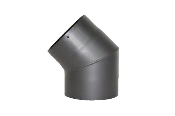 RR-Bogen 45 Grad Senoterm® gussgrau ohne ROE