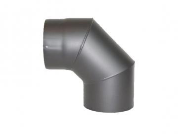 RR-Bogen 90 Grad Senoterm® gussgrau ohne ROE