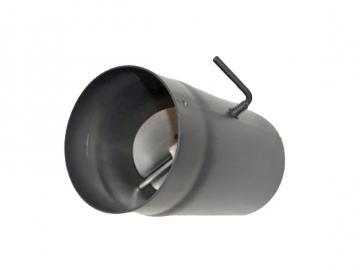 RR-500mm Senoterm® gussgrau mit Drosselklappe