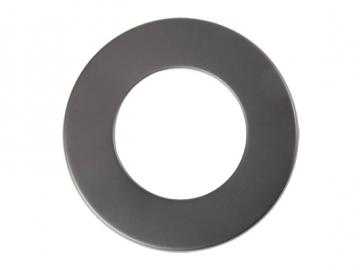 Rosette Senoterm® gussgrau 5cm Rand