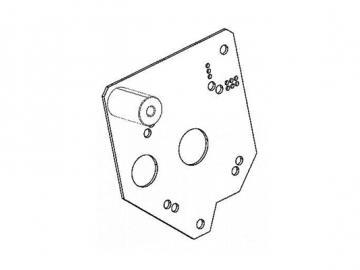 Motorplatte Pelletofen 519/534