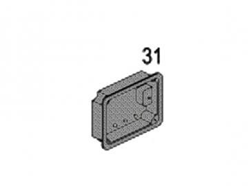 Heiztürschutzplatte HSD76AS rechts