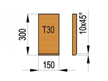 Schamott Seitenstein 138
