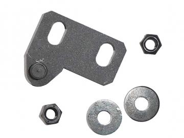 Türverschluss Gusstür 294/295 perl-schwarz