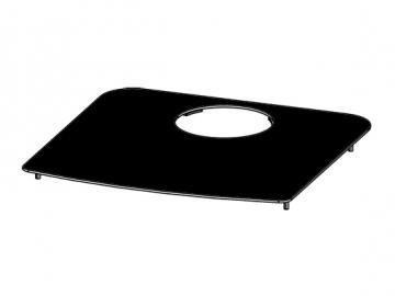 Deckplatte perl-schwarz 295.15