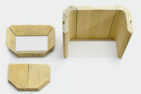 Schamottsatz kpl. Kago Kamineinsatz Gigant 800