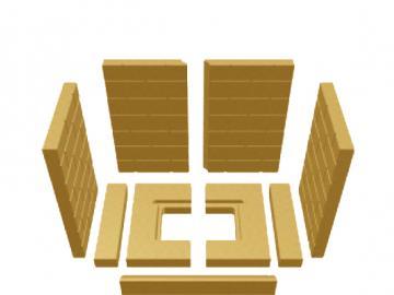 Schmid Vermiculitesatz Lina 5545 MWO