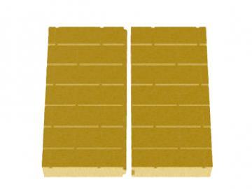 Schmid Kamineinsatz Lina 5551 Rückwand Vermiculite