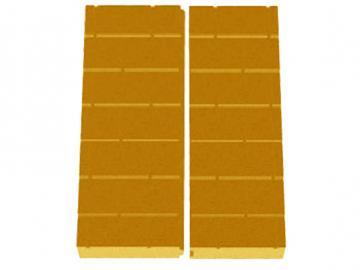 Schmid Kamineinsatz Lina 5580h Rückwand Vermiculite