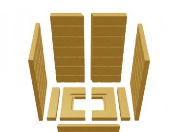 Schmid Vermiculitesatz Lina 5580h MWO