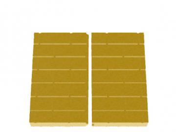 Schmid Kamineinsatz Lina 6745 Rückwand Vermiculite