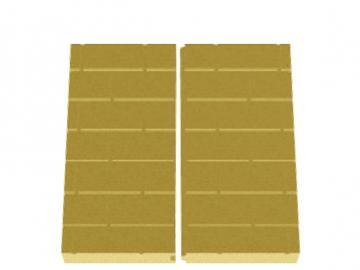 Schmid Kamineinsatz Lina 7357 Rückwand Vermiculite