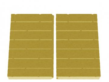 Schmid Kamineinsatz Lina 8751 Rückwand Vermiculite
