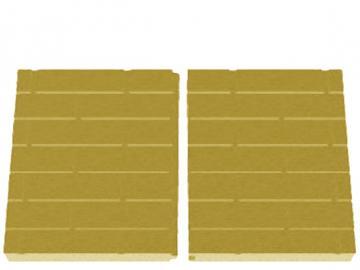 Schmid Kamineinsatz Lina 10045 Rückwand Vermiculite