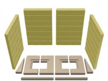 Schmid Vermiculitesatz Lina 10057 MWO