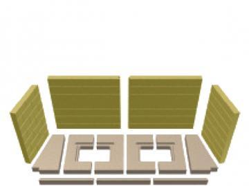 Schmid Vermiculitesatz Lina 12045 Mauerwerksoptik