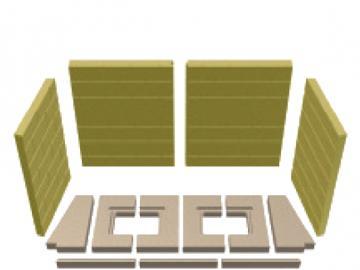 Schmid Vermiculitesatz Lina 12051 Mauerwerksoptik