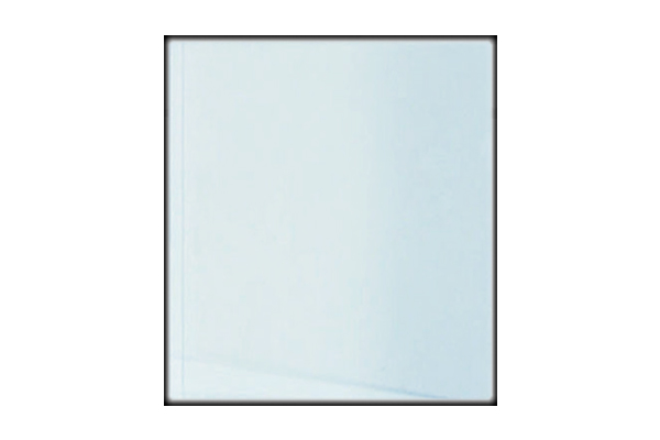 Kaminscheibe Ekko 67(45)45 Kristall zweiteilig Seitenscheibe