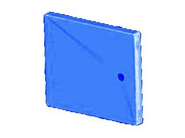 Heiztürblende blau DH75/85