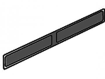Sockelblende schwarz HSD 76