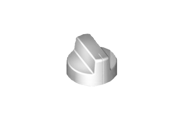 Reglerknebel DH75/85 Edelstahl-Optik